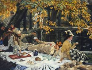 Holyday circa 1876 by James Tissot 1836-1902