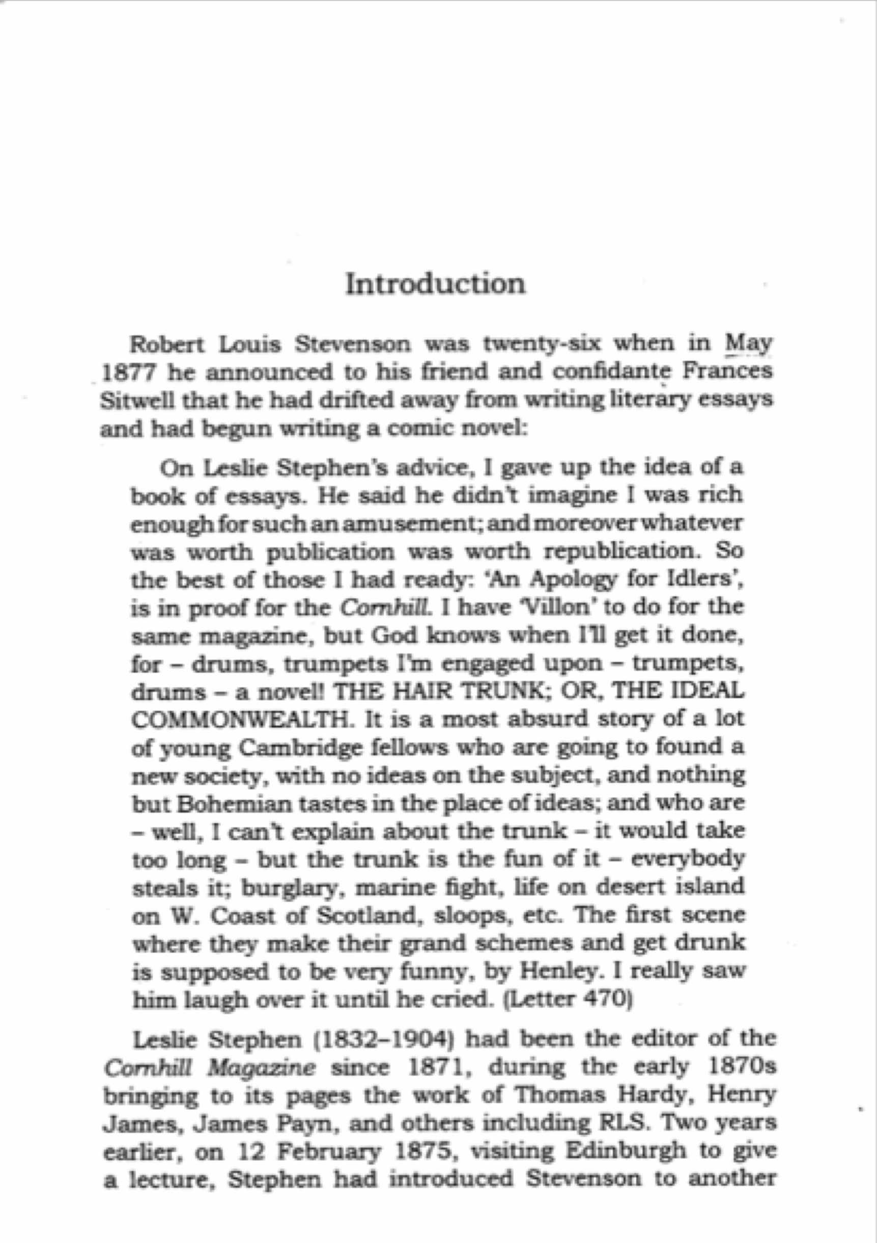 Example Literature Reviews - Dissertation Literature