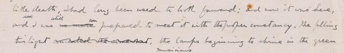 'The Wrecker' (draft) (?1889-90)