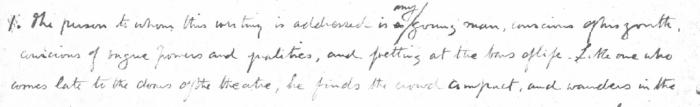 'Lay Morals' (Oct 1883)